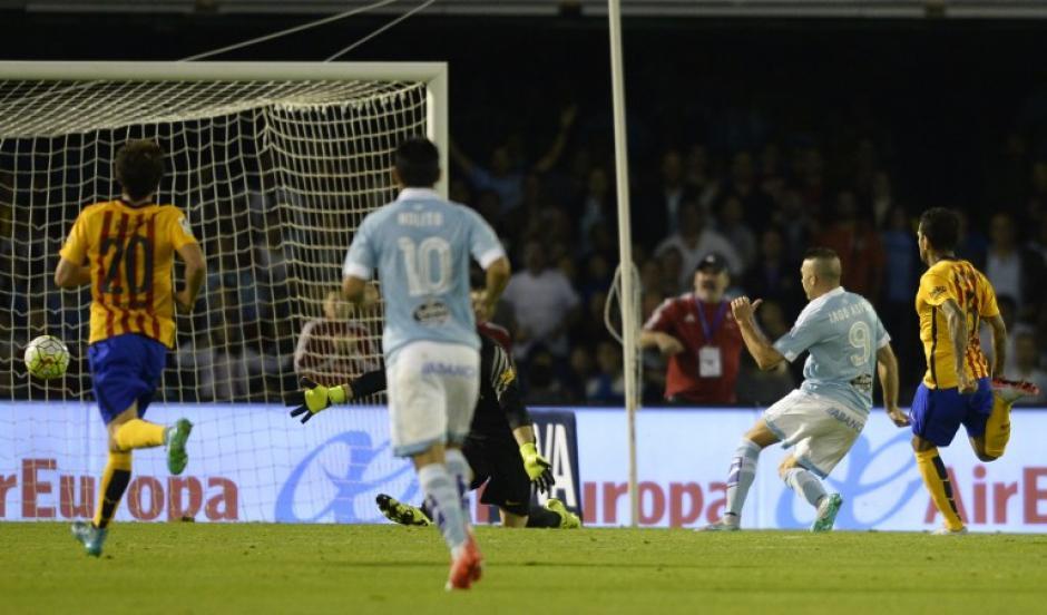 El Barcelona cayó por goleada en Balaídos. (Foto: AFP)
