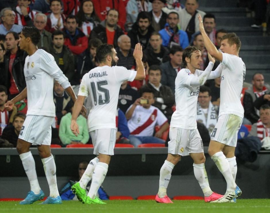 El Madrid suma 13 puntos y es el actual líder de la Liga BBVA tras cinco jornadas
