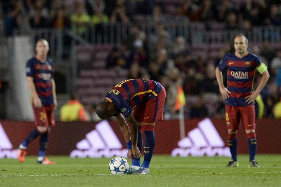 El Barcelona lució muy distinto sin Lionel Messi. (Foto: AFP)