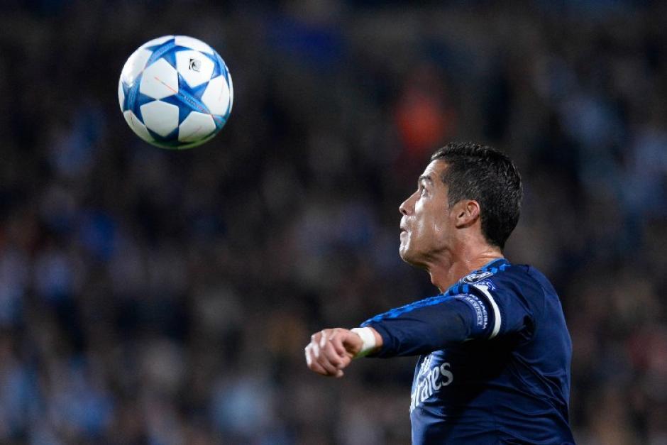 Cristiano Ronaldo tuvo varias ocasiones de gol y pudo concretar una