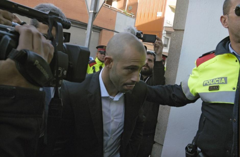 Mascherano se declaró culpable de defraudar a Hacienda en España