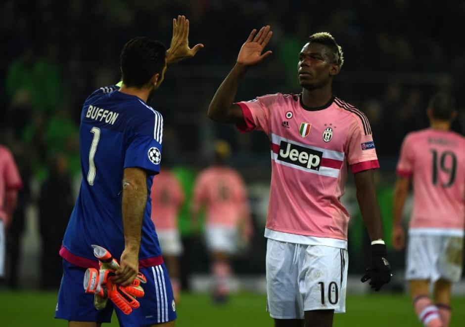 Juventus empató de visita ante elBorussia Moenchengladbach. (Foto: AFP)