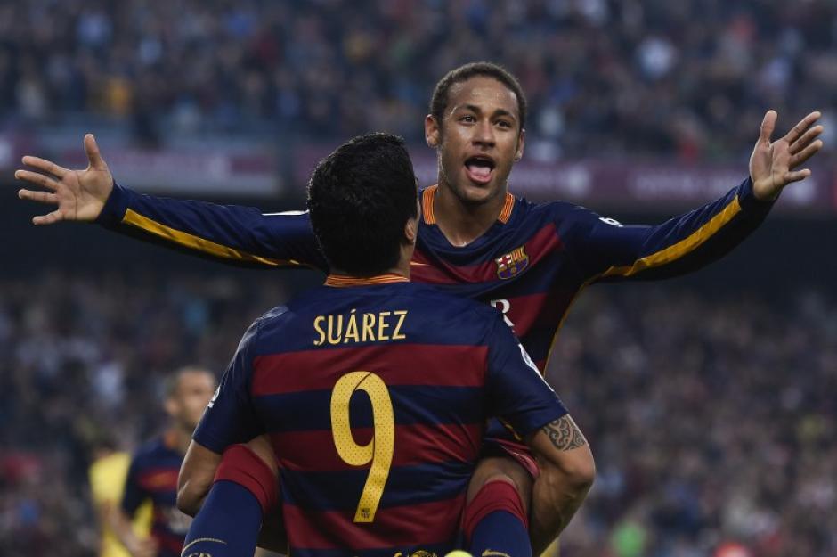 Neymar y Suárez fueron los anotadores del 3-0 del Barcelona sobre Villarreal. (Foto: AFP)