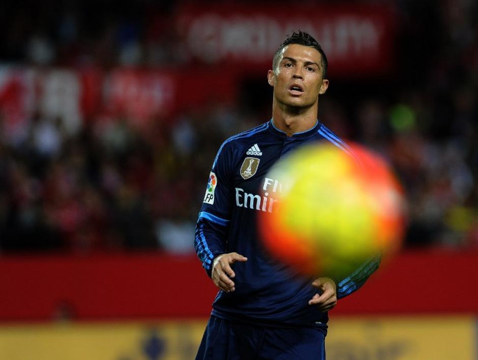 """Cristiano Ronaldo se fue en blanco ante su """"víctima favorita"""" en la Liga BBVA. (Foto: AFP)"""