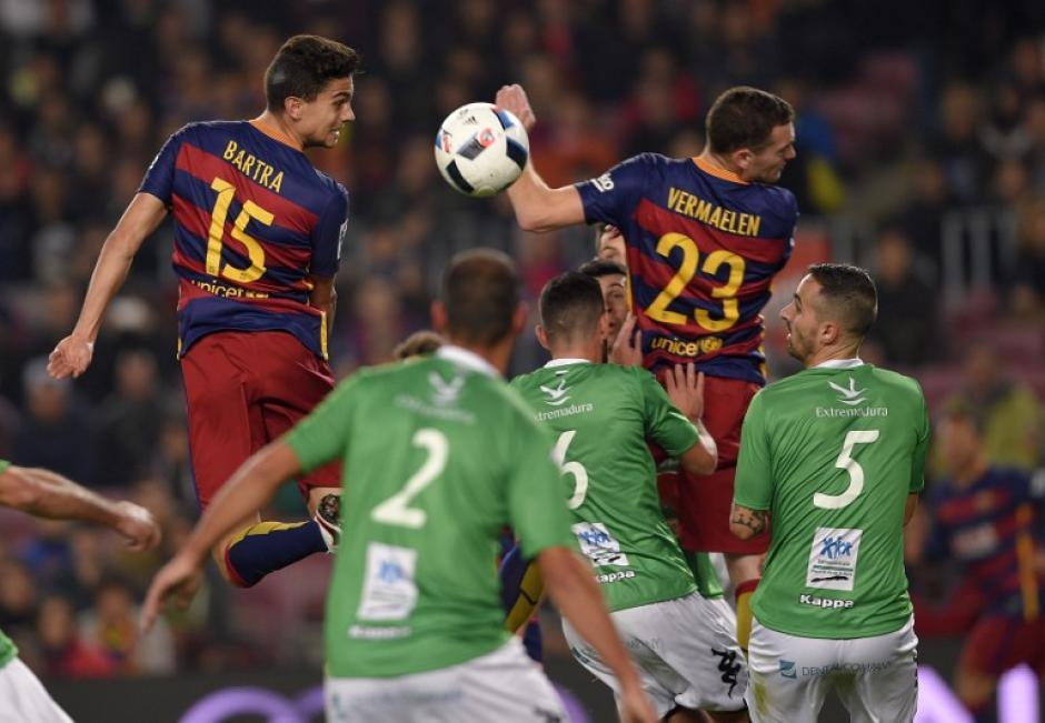 El cuadro catalán consiguió su pase a octavos de final de la Copa del Rey. (Foto: AFP)