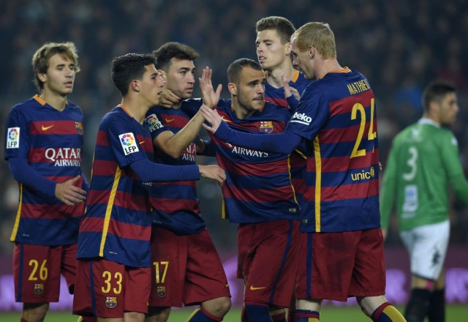 El Barcelona goleó al Villanovense por 6-1 en el Camp Nou. (Foto: AFP)