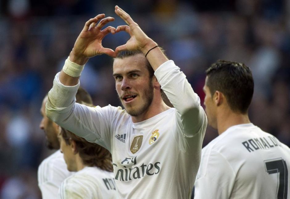 Bale anotó un tanto en el triunfo del Madrid ante el Getafe. (Foto: AFP)