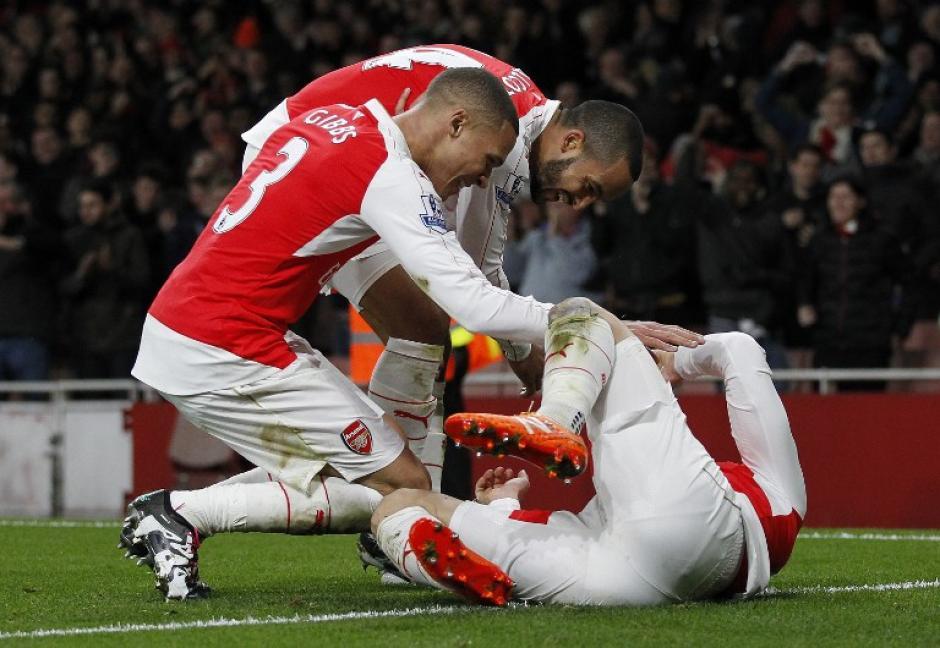 El Arsenal derrotó 3-1 al Sunderland. (Foto: AFP)