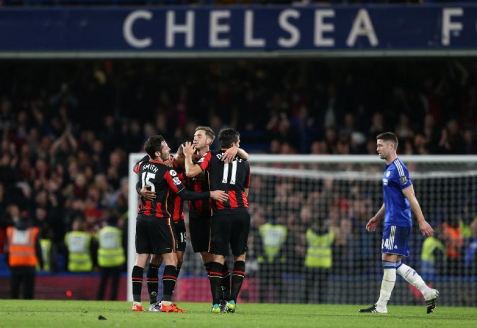 El Chelsea cayó en Stamford Bridge ante el Bournemouth. (Foto: AFP)