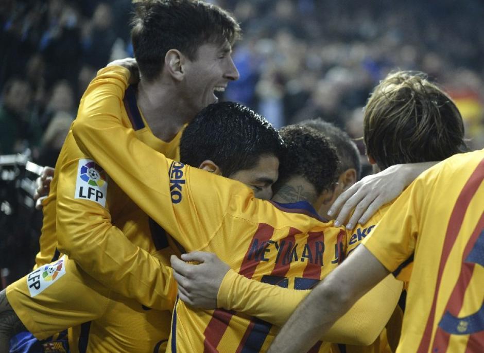 El Barcelona solamente pudo empatar y cedió dos puntos en su liderato. (Foto: AFP)