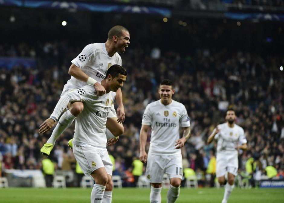 El Madrid se vio bastante bien como equipo. (Foto: AFP)