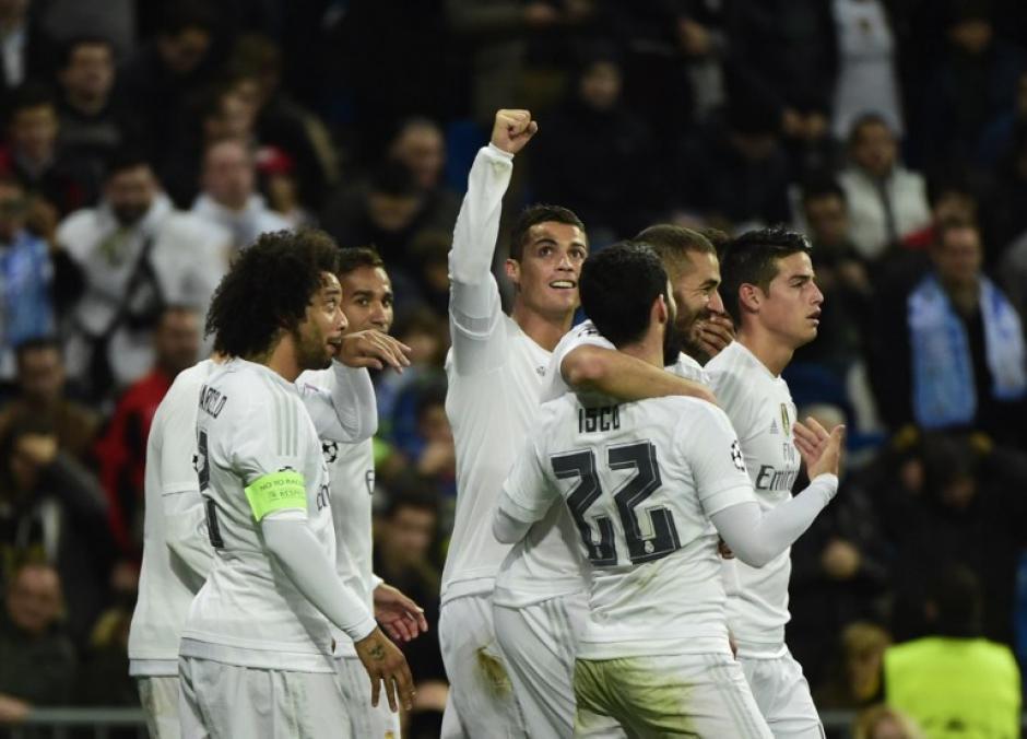 El Real Madrid derrotó 8-0 al Malmö en la sexta jornada de la fase de grupos. (Foto: AFP)