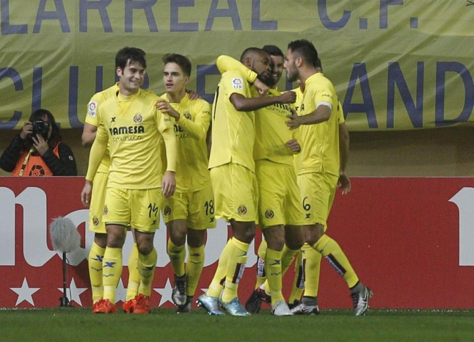 El Villarreal derrotó en casa al Real Madrid. (Foto: AFP)