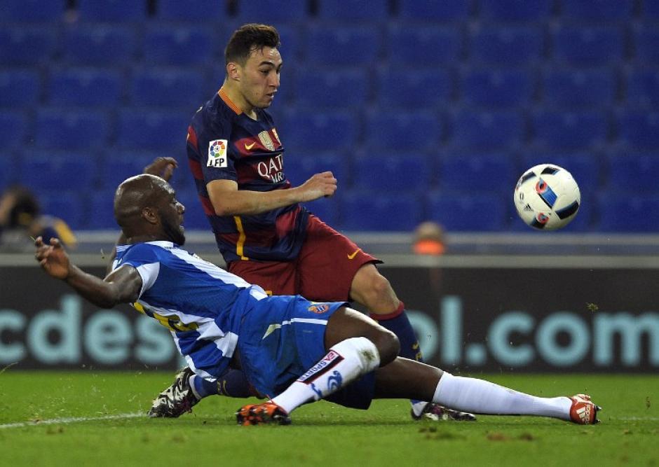 Munir anotó a los minutos 31 y 88 de juego. (Foto: AFP)
