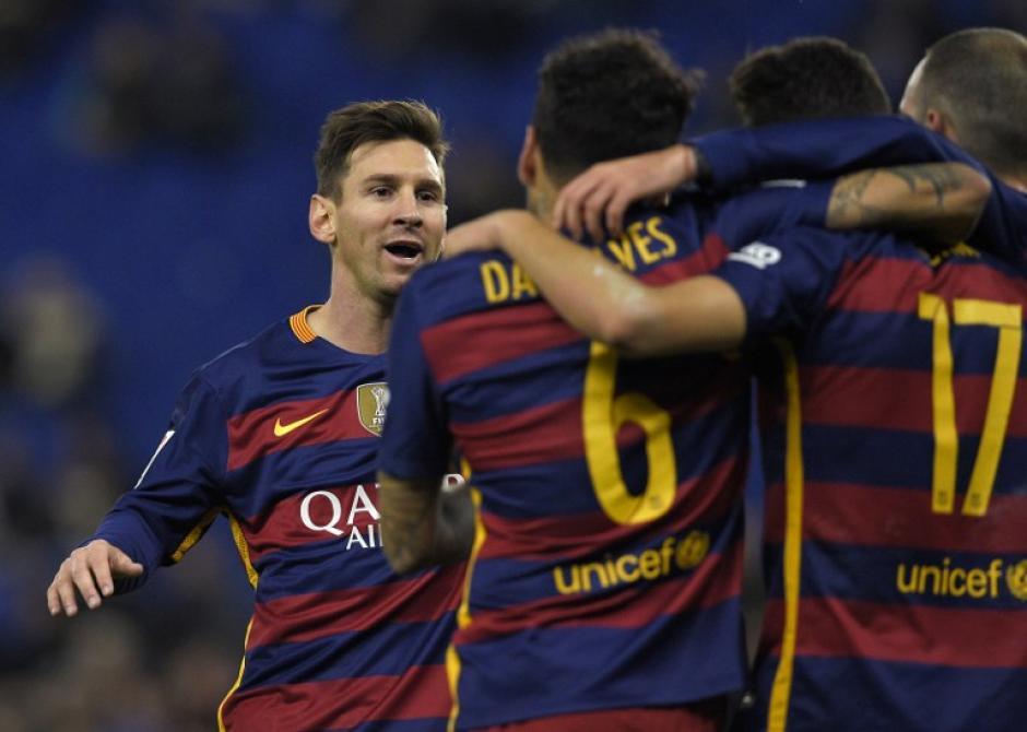 El Barcelona clasificó a cuartos de final tras dos victorias en la serie ante el Espanyol. (Foto: AFP)