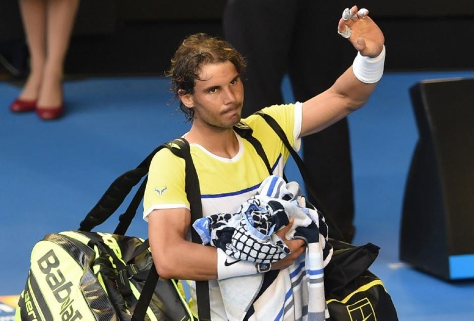 Nadal quedó eliminado del Abierto de Australia tras la primera ronda