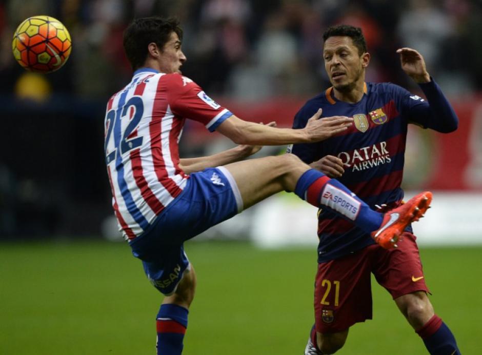 El Sporting logró un empate transitorio en el primer tiempo pero no fue suficiente. (Foto: AFP)