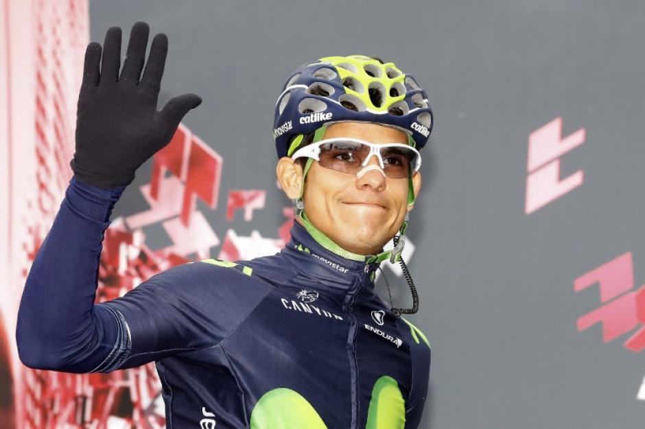 Amador compite para el equipo Movistar. (Foto: AFP)