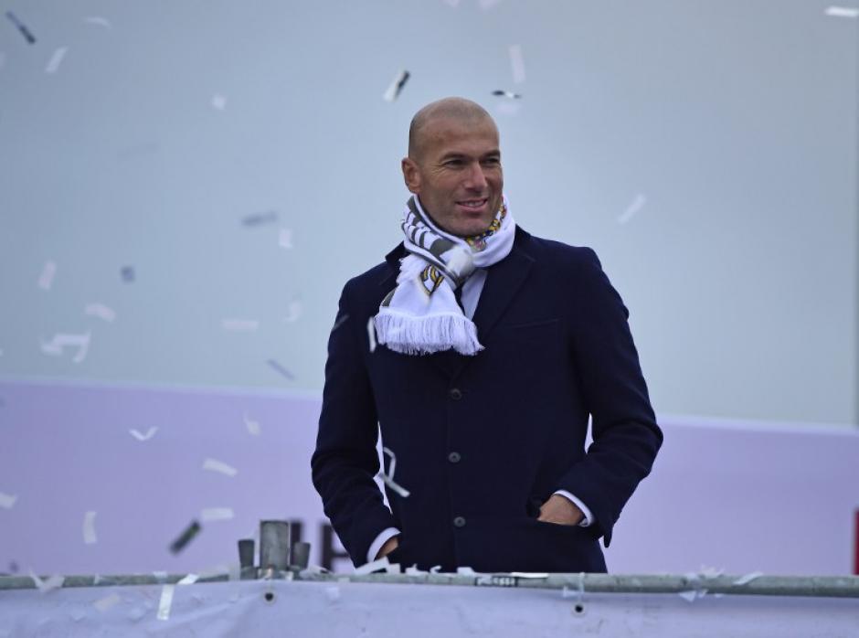Zidane consiguió el título como jugador, ayudante y ahora como técnico del Real Madrid. (Foto: AFP)