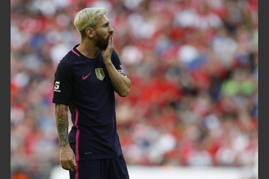 Así quedó Leo Messi tras la derrota. (Foto: AFP)