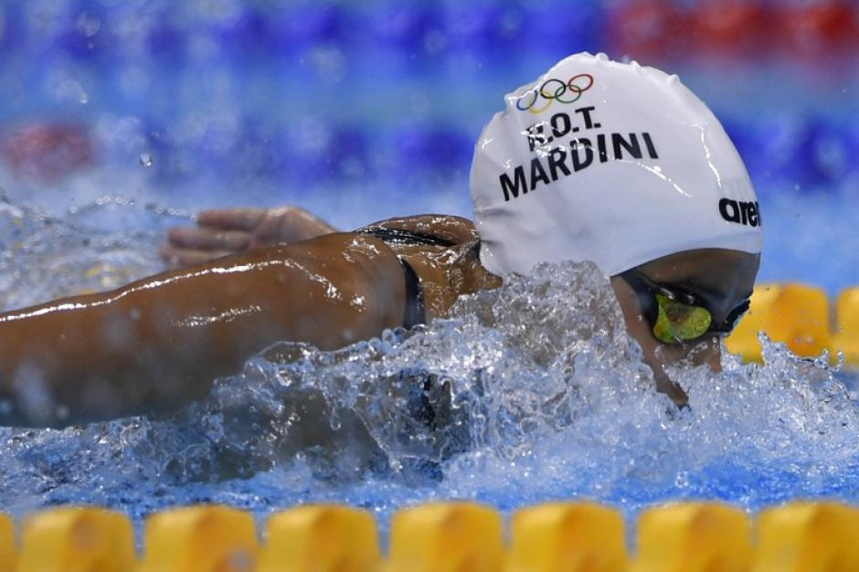 Ahora, vive en Alemania y se dedica a la natación (Foto: AFP)