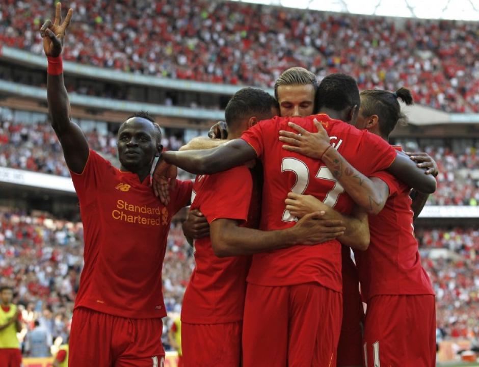 El Liverpool fue muy superior al Barcelona (Foto: AFP)