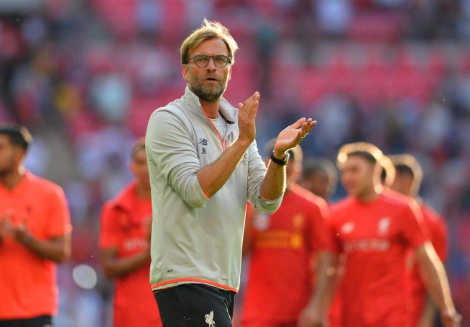 Klopp le dio una lección táctica a Luis Enrique (Foto: AFP)