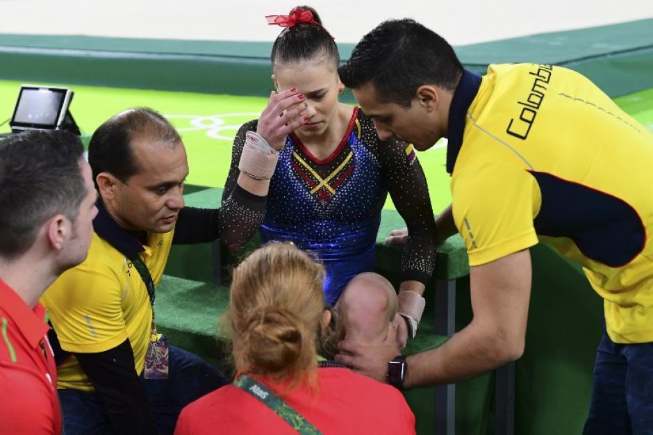 Sus lágrimas conmovieron al mundo (AFP)
