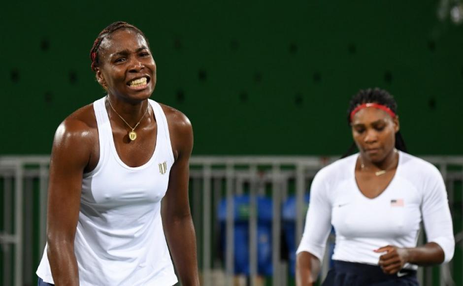 Venus y Serena cayeron en la primera ronda (Foto: AFP)