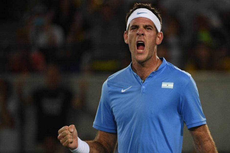 Del Potro mostró su mejor tenis. (AFP)