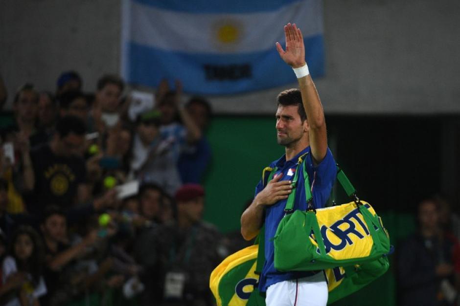 """""""Nole"""" se queda sin su Golden Slam. (AFP)"""
