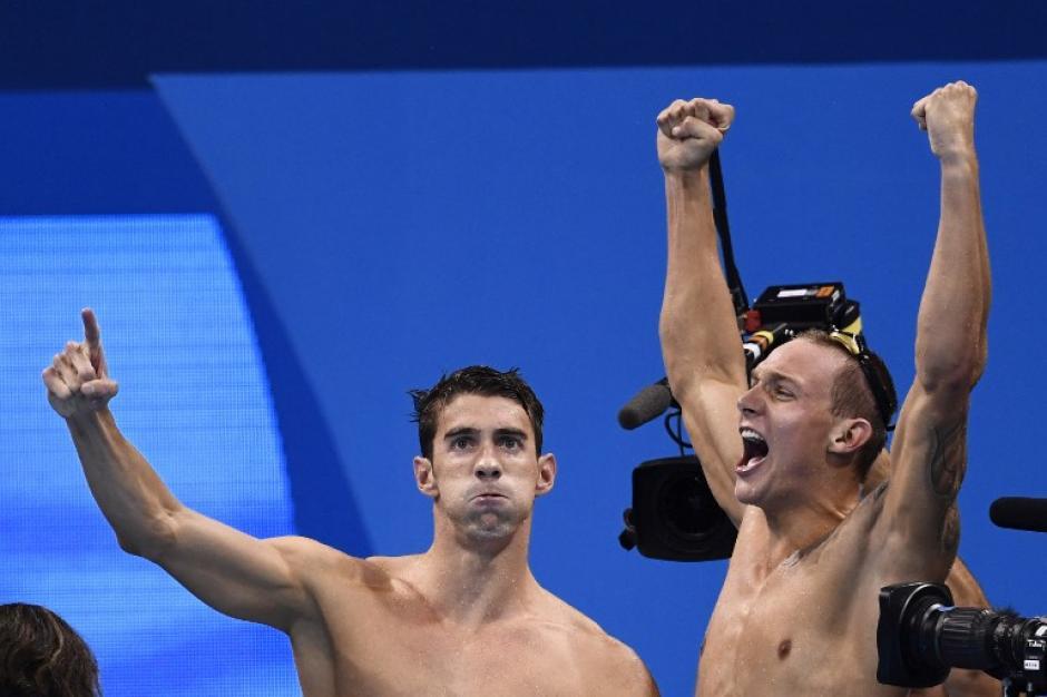 El norteamericano es el mejor medallista de la historia. (AFP)