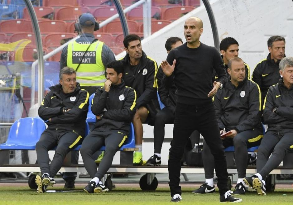 Poco a poco, Guardiola arma el equipo que desea. (Foto: AFP)