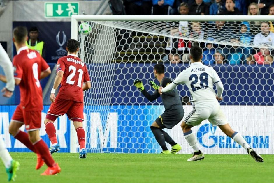 Asensio había metido un golazo en el primer tiempo. (AFP)