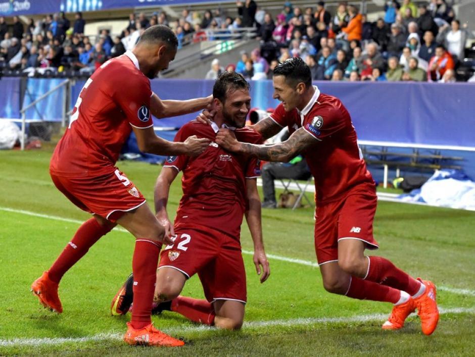Franco Vázquez había marcado el empate. (AFP)
