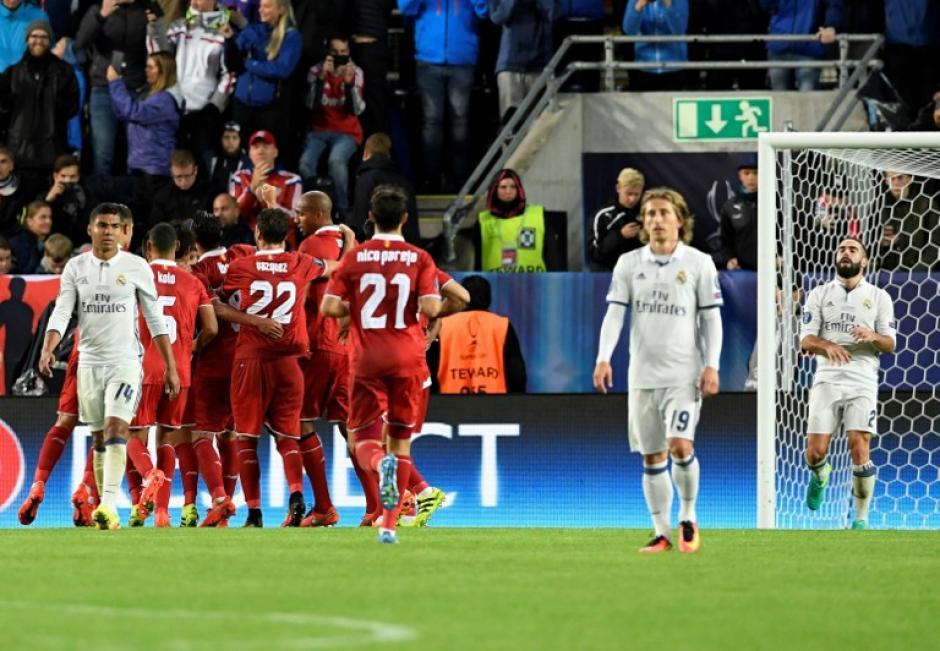 El Sevilla se había adelantado de penal. (AFP)