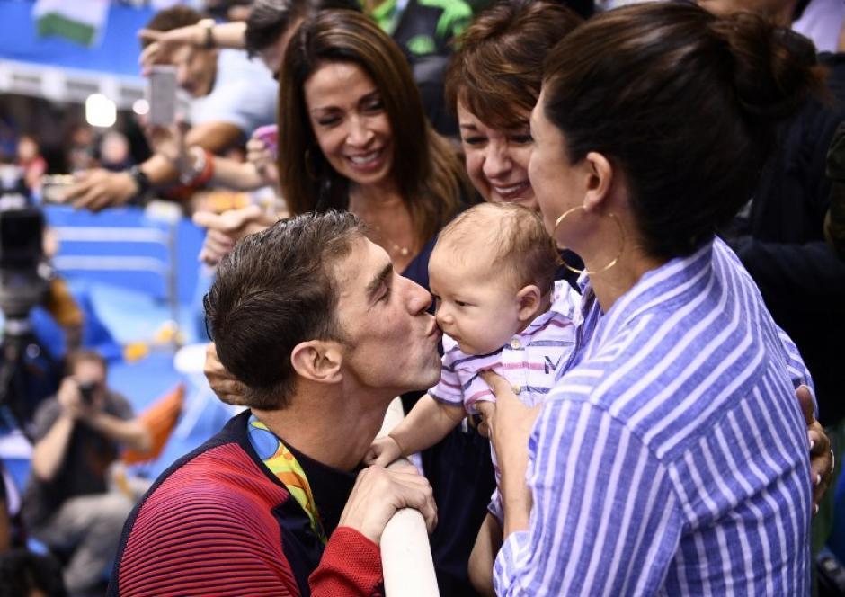 Phelps ya tiene 25 medallas olímpicas en total. (AFP)