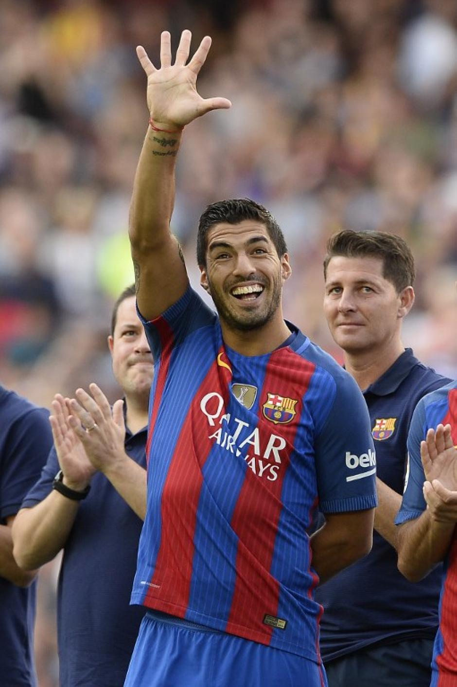 Luis Suárez abrió el marcador. (Foto: AFP)