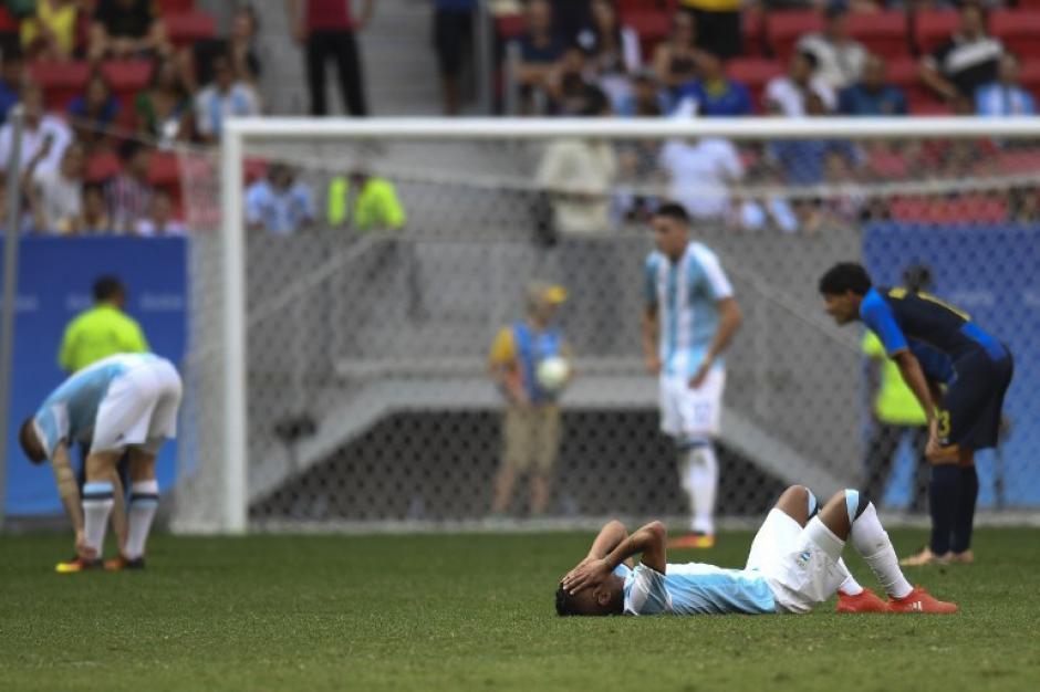 La albiceleste no pudo ganarle a Honduras. (Foto: AFP)