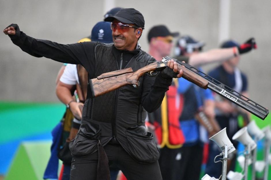 El kuwaití compite como atleta independiente. (AFP)