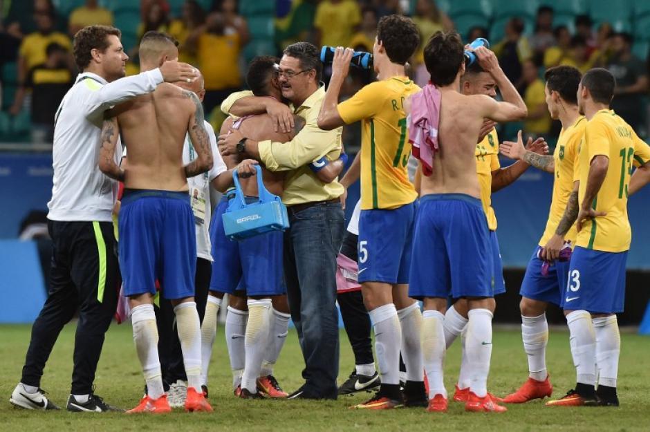 Brasil encontró su juego en los últimos dos partidos (Foto: AFP)