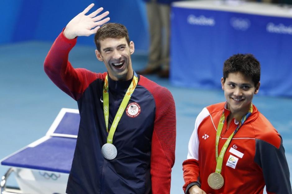 El singapurense ganó el primer oro de la historia para su país. (Foto: AFP)
