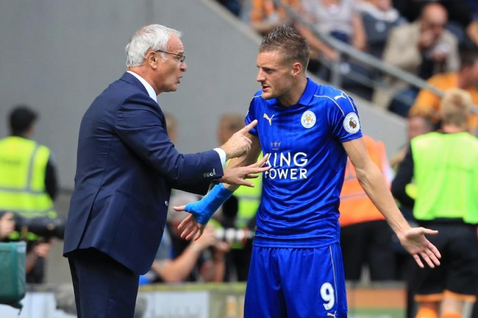 A Claudio Ranieri no le salieron bien las cosas  (AFP)