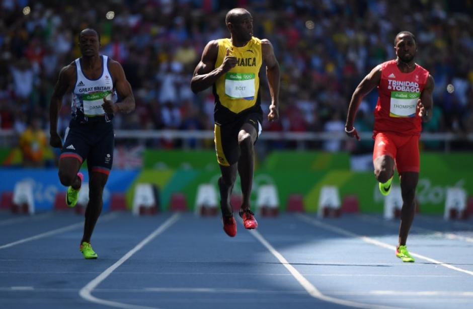 Bolt no corrió al 100% pero ganó sin problemas. (Foto: AFP)