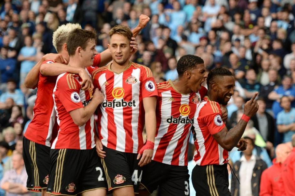 El Sunderland empató por sorpresa al 71. (Foto: AFP)