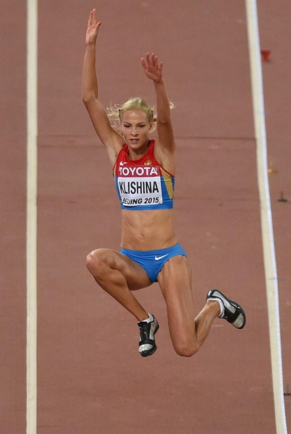 La atleta rusa era la única de su país en haber ido.  (Foto: AFP)