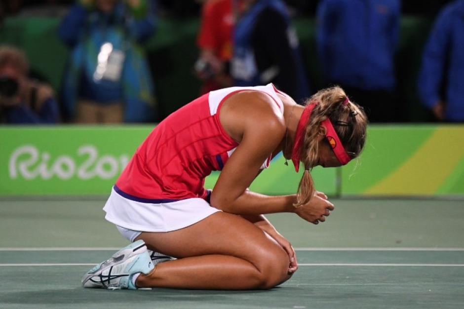 Ganó el oro olímpico siendo la número 342 del mundo. (Foto: AFP)