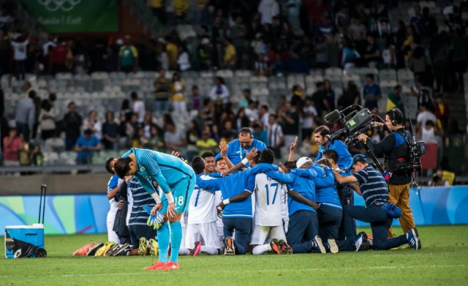 Los centroamericanos eliminaron a Argentina y Corea del Sur (Foto: AFP)