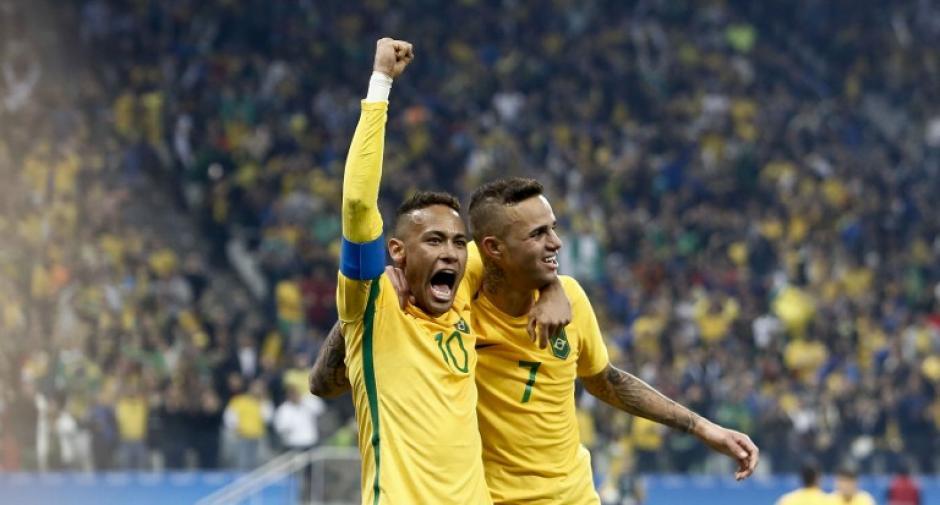 Neymar quiere guiar a Brasil a la final olímpica (Foto: AFP)