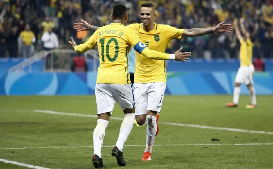 Neymar y compañía buscan el oro olímpico (Foto: AFP)